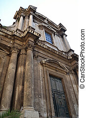 Old church in Rome, Italy