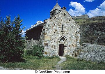 Old church in Switzerland