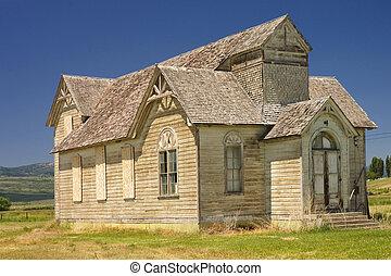 Old church in Utah - Old historic church in Utah