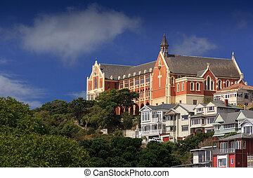 Old Church landmark - Wellington, New Zealand