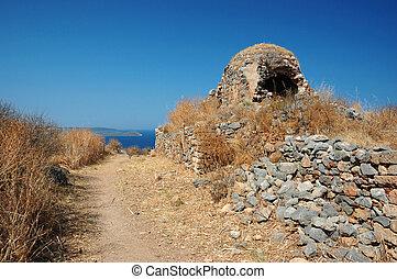 Old church of Monemvasia,Greece
