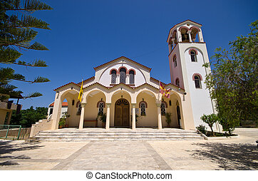 Old church on Crete, Greece