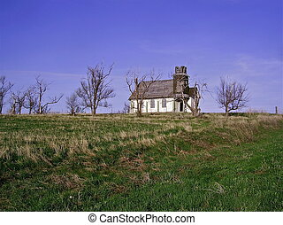 Old Church on the Prairie