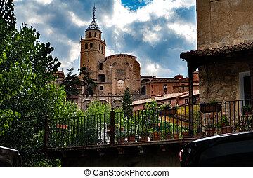Old church village