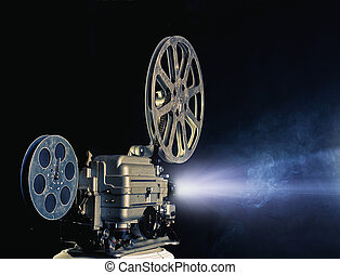 cinema projector - old cinema projector photo