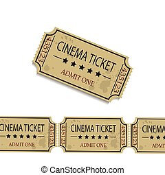 Old cinema tickets