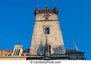 Old City Hall Clock tower, Prague