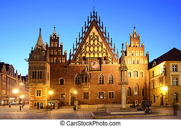 old city hall in wroclaw