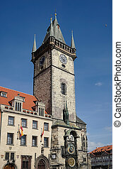 Old City Hall Tower in Prague