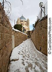 Old city in Jerusalem