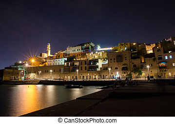 old city Jaffa - view of the old city of Jaffa in Tel Aviv...