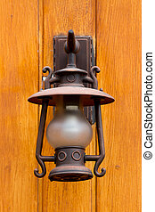 Old city lamp