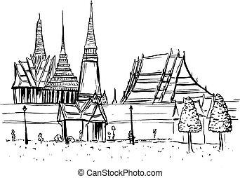 Old City of Bangkok