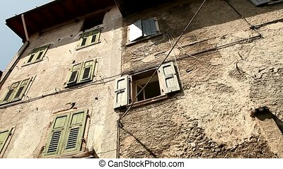 Old City of Limone, Italy - city of Limone, at the lake...