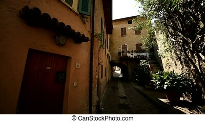 Old City of Limone, Italy - video footage of the city of...