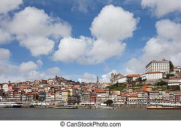 Old City of Porto Skyline in Portugal