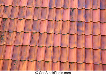 old clay tiles