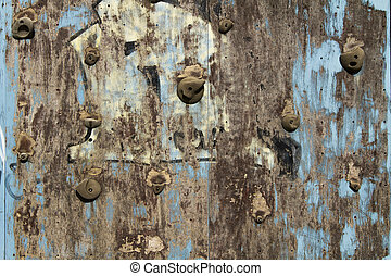 Old climbing wall