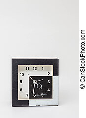 Old clock on background.