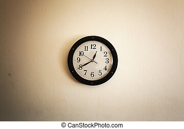 Old Clock on Wall