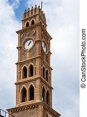 old clock tower akko israel