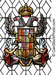 Old coat of arms of Spain