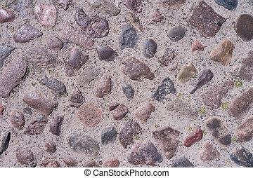 cobble stone background - old cobble stone background