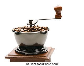 Old coffee grinder, isola