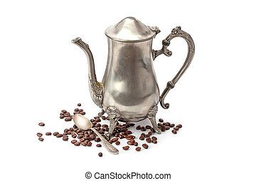 Old coffee pot