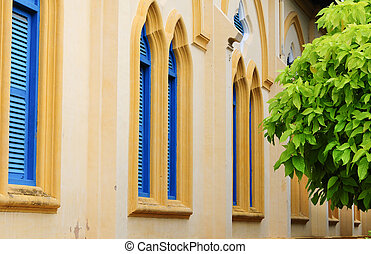 Old colonial church in Mekong Delta