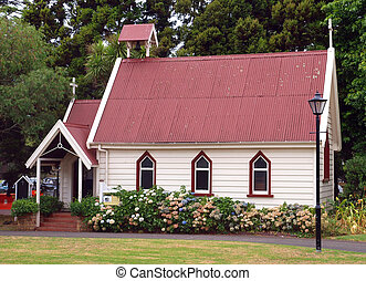 Old Colonial Church restored as a Museum display
