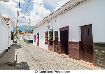 Old colonial houses
