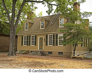 Old Colonial - An  old colonial home in historic Virginia.