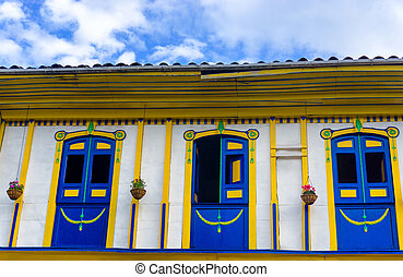 Old Colonial Windows