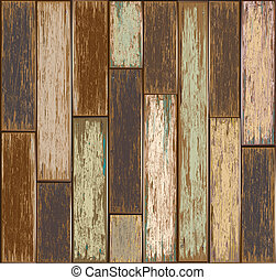 Old color wooden texture background
