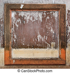 old concrete wall , grunge background texture