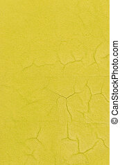 old concrete yellow wall background and texture