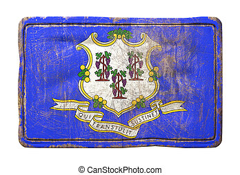 Old Connecticut State flag