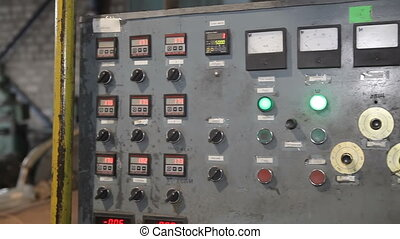 Old control panel production