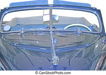 Old Convertible Car