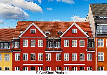 Old Copenhagen architecture