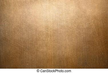 old copper or bronze metal texture
