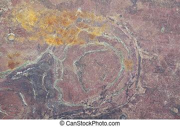 old copper sheet