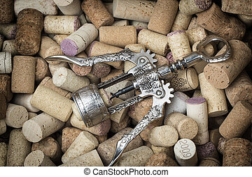 Old corkscrew