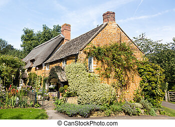 Old cotswold stone house in Ilmington - Ancient cotswold...