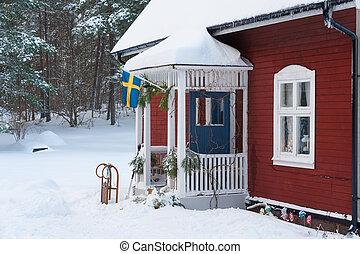 Old cottage in Sweden