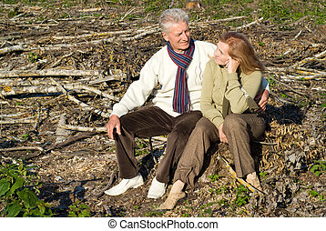 old couple at roots