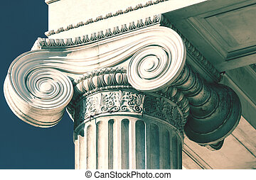 Old Courthouse Column