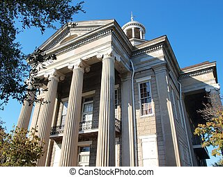 Old courthouse museum in Vicksburg, Ms