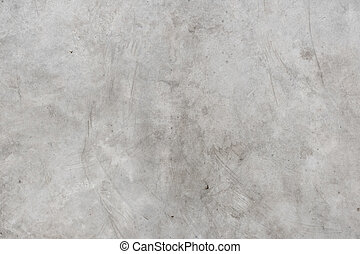 old crack grunge white concrete floor texture background, weathered cement backdrop.